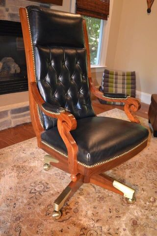 Rare 1960's Us House Historic Rayburn Chairman's Chair