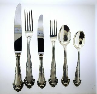 Buccellati Grande Imperiale Sterling Flatware Set 74pc