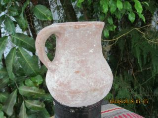 Ancient 1st Temple Period Clay Pitcher Jug 800 B.  C.  Judaica 100 Authentic