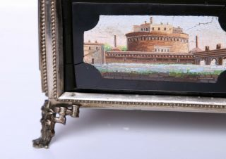 Antique Micro Mosaic Box Very 10