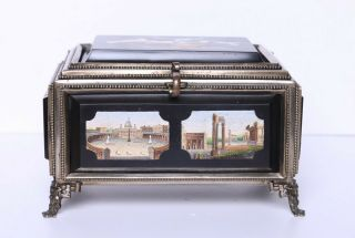 Antique Micro Mosaic Box Very 2