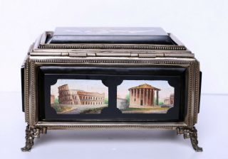 Antique Micro Mosaic Box Very 4