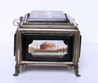 Antique Micro Mosaic Box Very 5