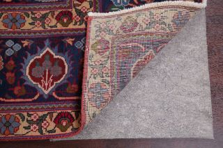 Vintage Geometric SCARLET Persian Oriental Area Rug Hand - Knotted Oriental 8x11 12