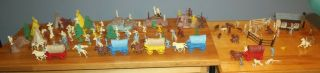 Marx Wagon Train Series 5000 Nearly Complete Vintage 1959 Era