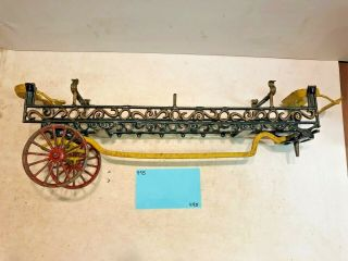 Vintage Toys,  Wilkins Hubley Ives Kenton Parts,  Ives Ladder Wagon,  Cast Iron 5