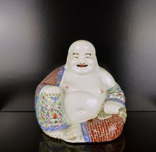 A Very Fine Large Chinese Republic Period Buddha With Mark To Base