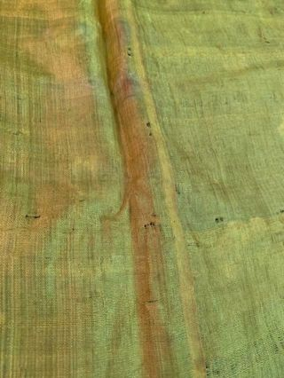 Incredible Antique Chinese Japanese Asian Silk Embroidered Robe Textile Kimono 9