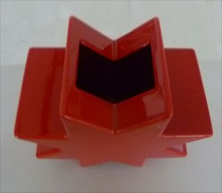 Sottsass Ettore Ceramic Hsing Red Only To Italy Is