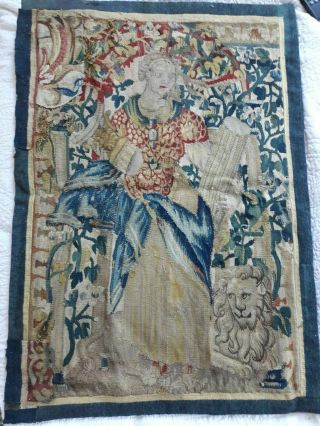 French 16th Century Tapestry