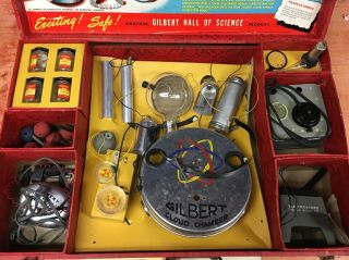 Rare Gilbert U - 238 Atomic Energy Lab toy with parts and case 2