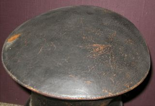 and Rare Bellcrown Shako,  1821 - 32,  Overall with Label 3