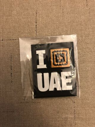 "5.  11 Tactical Patch ""uae Exclusive I Scope Patch"" Rare"