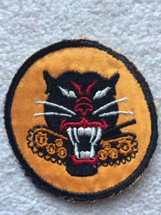 Rare Ww2 U.  S.  Army Tank Destroyer Theater Made Patch