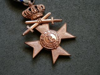 Ww1 Germany,  Bavarian Military Merit Cross 3rd Class With Crown