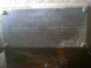 1934 PLYMOUTH Tractor Silver King,  Fate - Root - Heath Plymouth,  Ohio - RARE 10