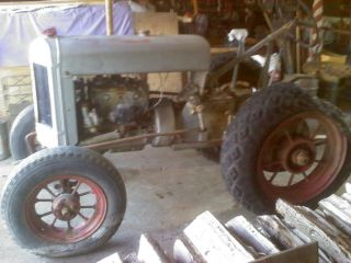 1934 PLYMOUTH Tractor Silver King,  Fate - Root - Heath Plymouth,  Ohio - RARE 4
