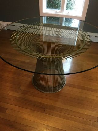 Platner For Knoll Dining Room Table