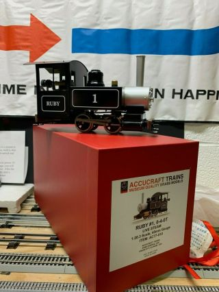 Accucraft Trains Ac77 - 010 Ruby 1 040 Live Steam Wow