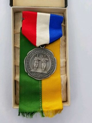 Ww1 Military Service Medal In Honor Of The Service Of The Boys Of Emaus Pa