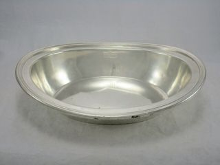 """United States Coast Guard Uscg Silver Plate 10 """" Serving Bowl Meriden B & Co"""