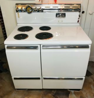 Vintage General Electric Stove Model 1j402w1m2 Local Pick Up Only