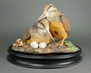 Fine Vtg German Bisque Porcelain Hutschenreuther G.  Granget Bird Sculpture