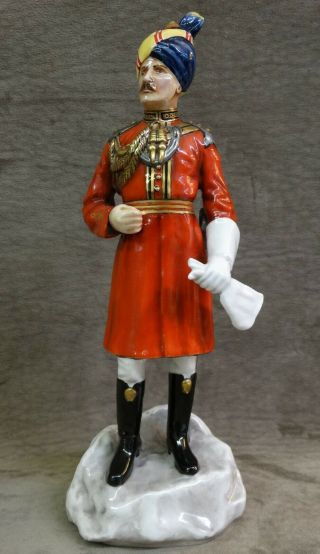 """Michael Sutty Soldier Figurine """" Governors Bodyguard Madras """" Colonial India,  34"""
