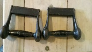 Very Rare Antique Vintage Dumbbells Not York Or Jackson Very Hard To Find.