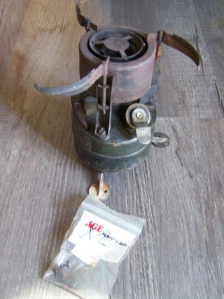 Vintage 1952 Military Army Camp Field Cook Stove Us Army Issue