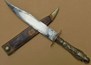 "Early Bowie Knife "" For The Gold Searcher"