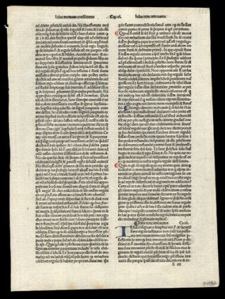 Rare Incunable Leaf 1485 Hand - Colored Letters The Passion Of Christ Our Lord
