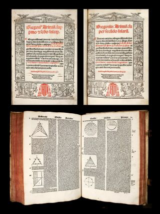 1522 Gregory Rimini Sentences Medieval Philosophy Catholic Theology P.  - Incunable