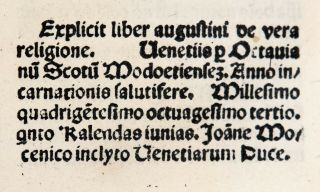 INCUNABLE 1483 Saint AUGUSTINE CONFESSIONS Catholic DIVINATION OF DEMONS Occult 10