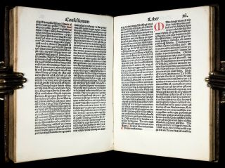INCUNABLE 1483 Saint AUGUSTINE CONFESSIONS Catholic DIVINATION OF DEMONS Occult 3