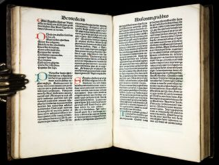 INCUNABLE 1483 Saint AUGUSTINE CONFESSIONS Catholic DIVINATION OF DEMONS Occult 7
