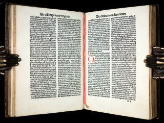 INCUNABLE 1483 Saint AUGUSTINE CONFESSIONS Catholic DIVINATION OF DEMONS Occult 8
