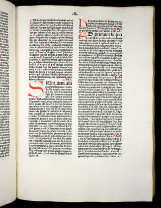 JENSON 1481 THOMAS AQUINAS on Sentences SACRAMENTS MARRIAGE Catholic INCUNABLE 10