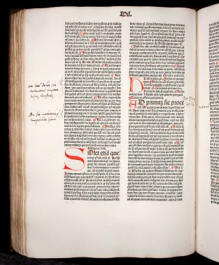 JENSON 1481 THOMAS AQUINAS on Sentences SACRAMENTS MARRIAGE Catholic INCUNABLE 8
