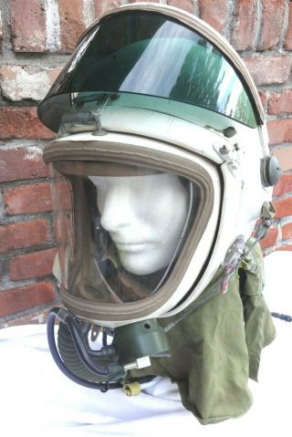 Soviet Gsh - 4aa High Altitude Flight Helmet