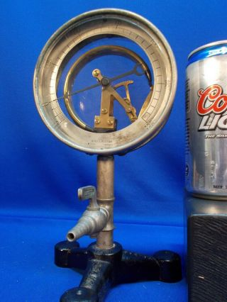 90,  Year Old Knott Boston Steam / Vacuum Gauge Demonstration Device,  A,