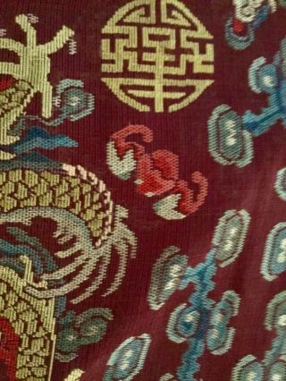 Embroidered Chinese Qing Dynasty Robe, 3