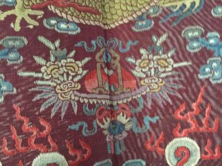 Embroidered Chinese Qing Dynasty Robe, 5