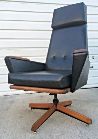Rare Adrian Pearsall Slim Jim Lounge Chair For Craft Associates Eames Mccobb Era