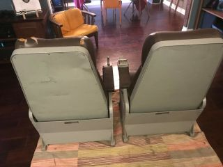 Ready Room Military Chair,  1960 ' s Air Craft Carrier,  Aviator Chair 4