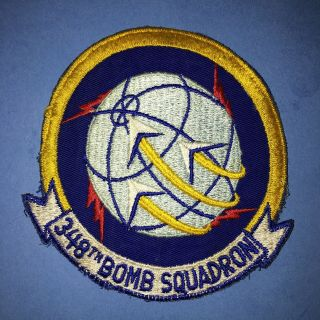 Us Air Force 348th Bomb Squadron Patch Rb - 36 B - 36 B - 52 Sac