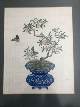 Exquisite Collectible Fine Antique Chinese 19th Century Art Painting Ornament