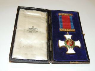 Stunning WW1 WW2 George VI DSO Distinguished Service Order Medal Award Cased 12