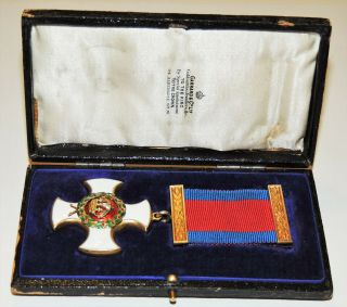 Stunning WW1 WW2 George VI DSO Distinguished Service Order Medal Award Cased 2