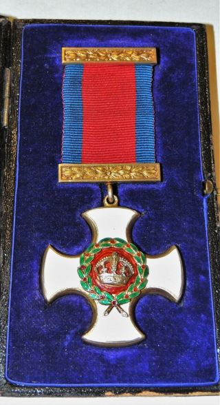 Stunning WW1 WW2 George VI DSO Distinguished Service Order Medal Award Cased 3